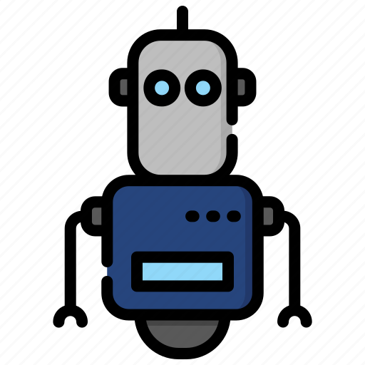 Artificial, device, electronic, intelligence, machine, robot, technology icon - Download on Iconfinder