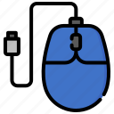 computer, device, gadget, hardware, mouse, pc, technology icon