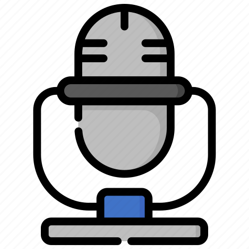 audio, device, gadget, mic, microphone, sound, technology icon