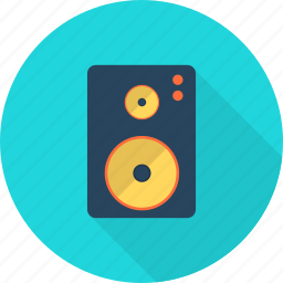 broadcasting, computer, music, sound, speaker, technology, volume icon