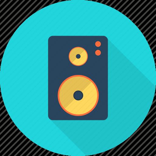 broadcasting, computer, music, sound, speaker, technology, volume icon