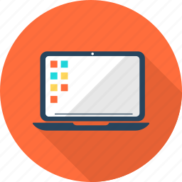 computer, internet, laptop, monitor, pc, screen, technology icon