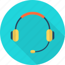 audio, headphone, microphone, music, player, sound, technology icon