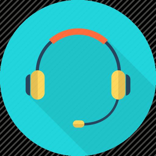 audio, headphone, microphone, music, player, sound, technology icon