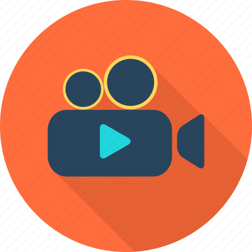 camera, film, media, movie, photography, technology, video icon