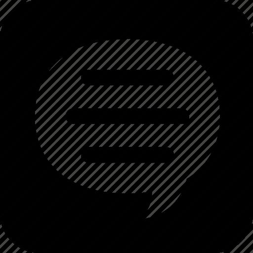 chat, communication, network, speech bubble icon