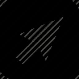 click, computer arrow, navigate, search, technology icon