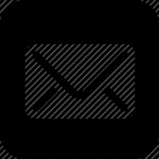 communication, email, envelope, inbox, letter, mail, send icon