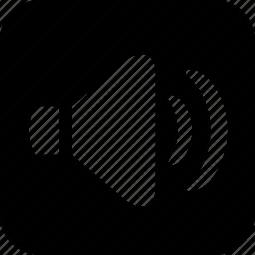 digital music, music, sound, speakers, volume icon