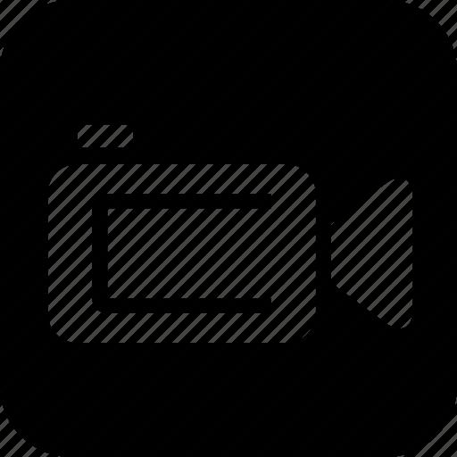 camera, media, movie, technology, video icon