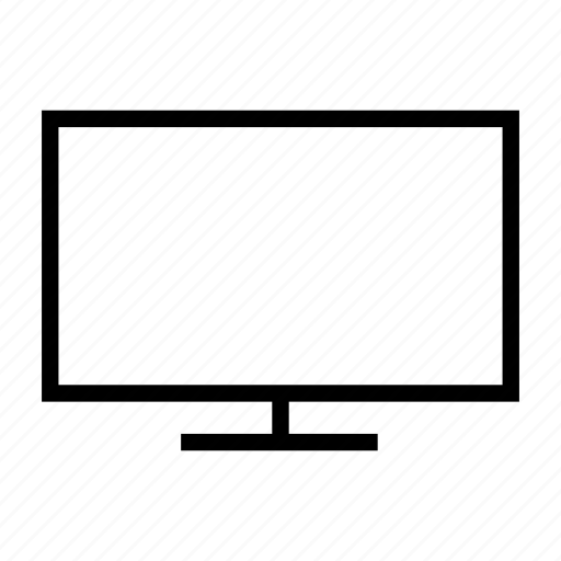 computer, monitor, plasma tv, screen, television, television screen icon