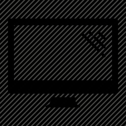 computer, display, imac, monitor, screen, television icon