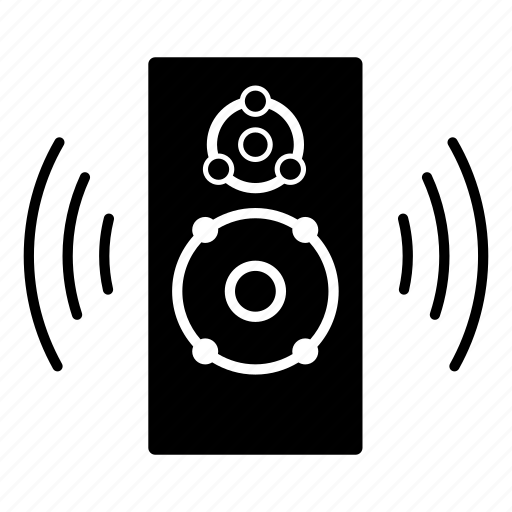 music, sound, speaker, stereo, subwoofer, volume icon