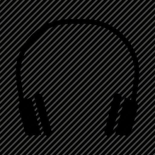audio, earphone, headphones, music, song icon
