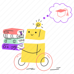 android, education, technology, machine, book, learning, learn, read, study, robot