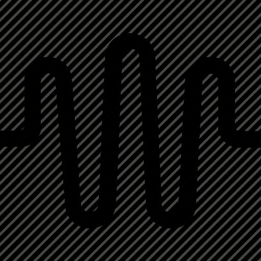 listen, music, sound, wave icon