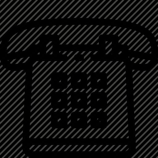 Phone, retro, speak, talk, telephone icon - Download on Iconfinder