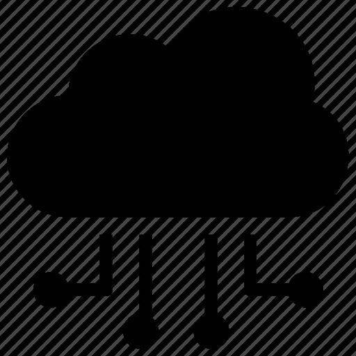 Cloud computing, cloud hosting, cloud network, cloud server, web hosting icon - Download on Iconfinder