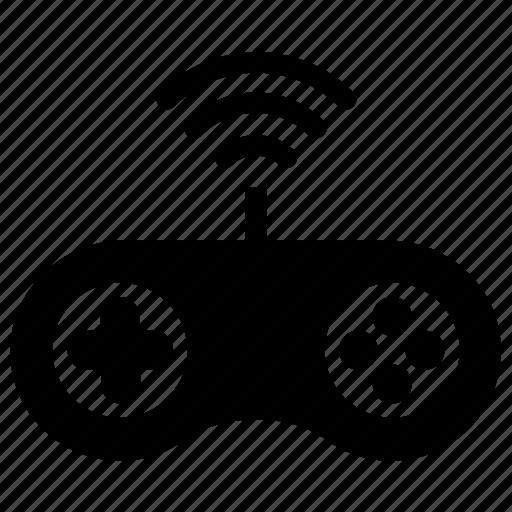 Online games, playstation, wireless console, wireless games, wireless joystick icon - Download on Iconfinder
