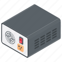 ac stabilizer, fridge stabilizer, power stabilizer, stabilizer, voltage stabilizer icon