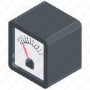ammeter, current meter, electric device, galvanometer, galvo monitor, meter icon