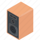 electric device, media device, music speaker, output device, speaker icon