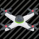 aircraft, chopper, drone, mini copter, quadcopter icon