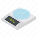 digital scale, meter scale, weigh scale, weight machine, weight meter icon