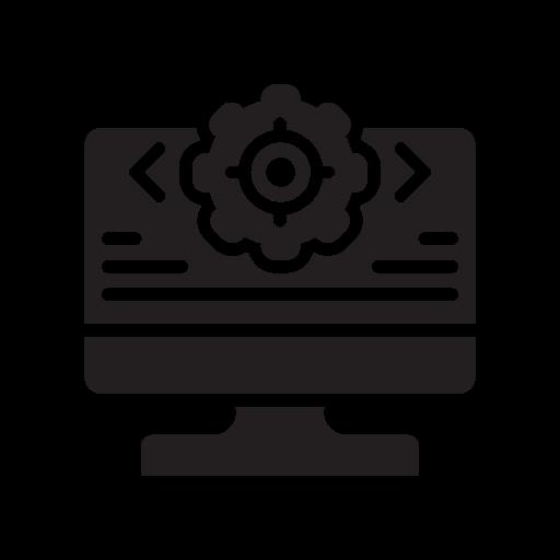 Bright, bulb, code, ide, idea, laptop icon - Free download