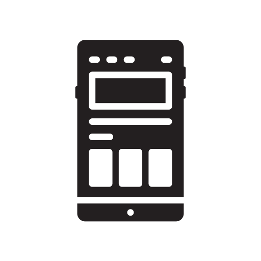 business, interface, phone, technology, user icon