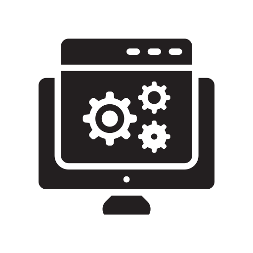 marketing, optimization, page, seo, web, webinar, website icon