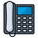 call, conference, contact, desk, office, phone icon