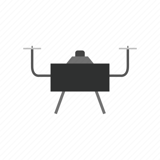 Computer, device, drone, monitor, quadcopter, technology icon - Download on Iconfinder