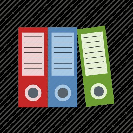 binder, document, extension, file, folder, format, paper icon