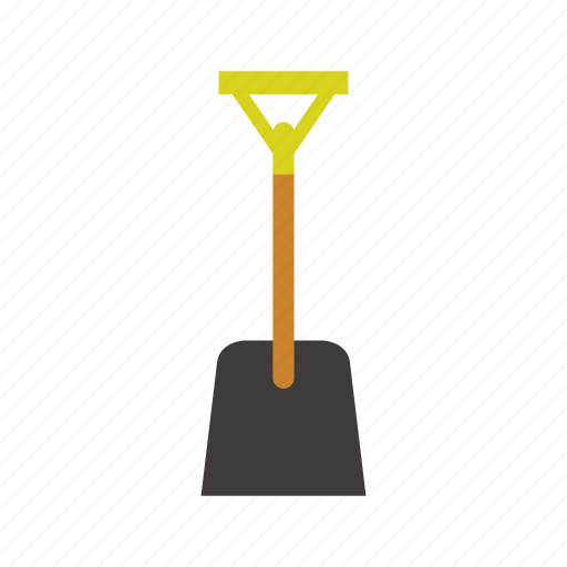 Construction, creative, design, shovel, tool, web icon - Download on Iconfinder