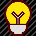 bulb, idea, light, lightbulb, luminaire