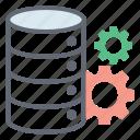 data protection, data safety, data security, database configuration, information security, secure database icon