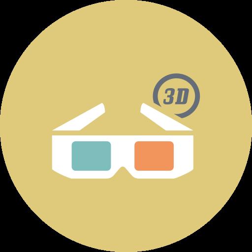 cinema, entertainment, film, glasses, movie icon