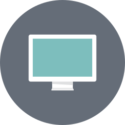 desktop, device, display, monitor, multimedia, pc screen, screen icon