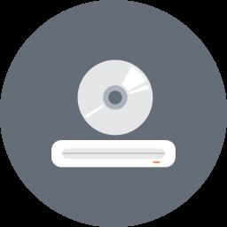 cd, cd rom, device, disc, drive, dvd, dvd rom icon