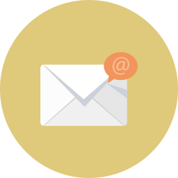 bubble, email, envelope, mail icon