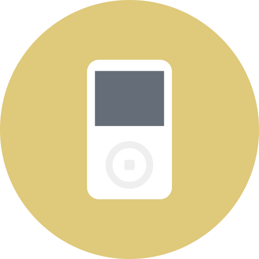 electronics, ipod, media, multimedia, music, player, sound icon