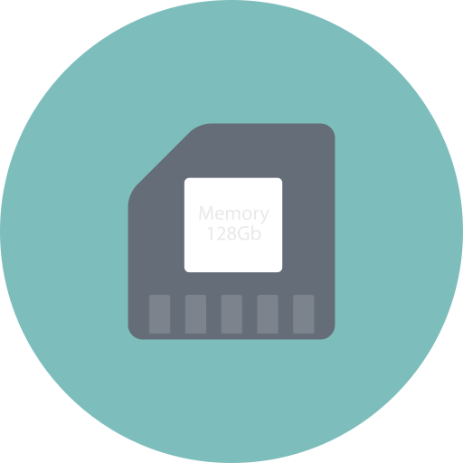 card, data, memory, memory card, sd, storage icon
