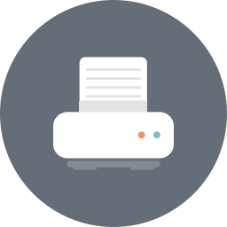 color, hardware, paper, print, printer, printing icon