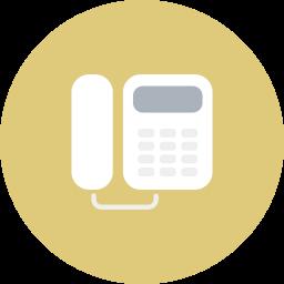 analog, business, electronics, office, telecommunication, telephone icon
