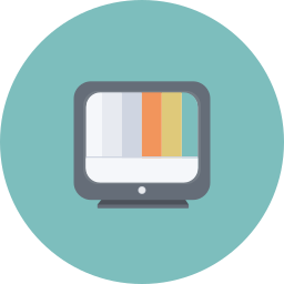analog, display, electronics, media, retro, television, tv icon
