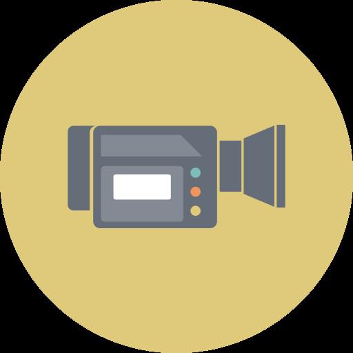 camera, device, entertainment, film, media, technology, video icon