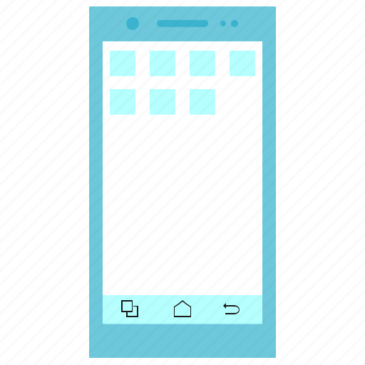 Android, smartphone, touchscreen icon - Download on Iconfinder