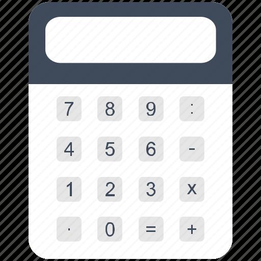calculator, math, value icon