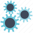 gear, machine, technology icon